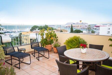 Schöne Wohnung mit toller Terrasse in El Terreno