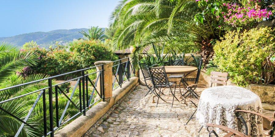Wunderschöne Wohnung mit einem schönen Garten in La Bonanova
