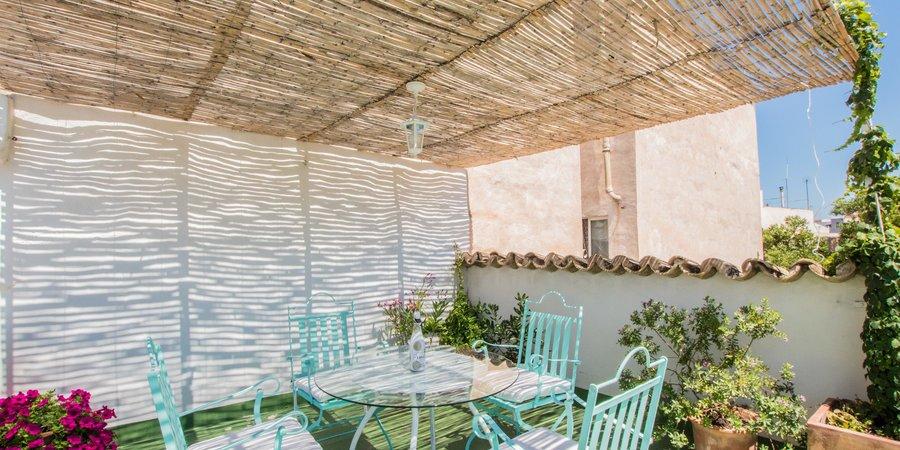 Bonito apartamento con terraza soleada en Son Espanyolet