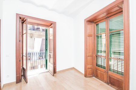 Spacious unfurnished apartment in Old Town
