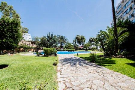 Läcker lägenhet med havsutsikt i Puerto Portals
