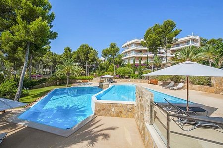 Wonderful sea view penthouse in Sol de Mallorca