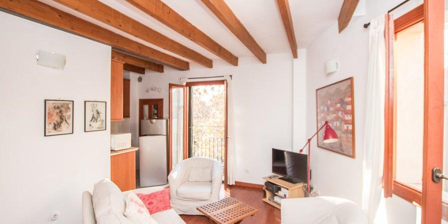 Trevlig lägenhet med två sovrum i La Calatrava, Gamla stan