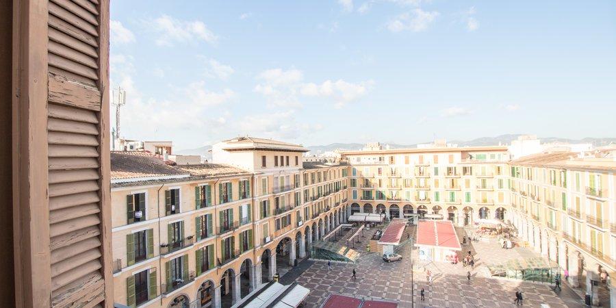 Fabelhaftes Penthouse mit Terrasse und Parkplatz am Plaza Mayor