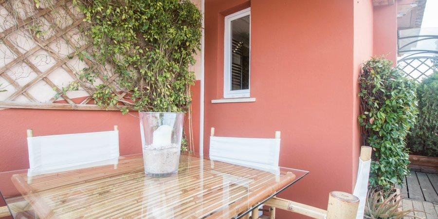 Apartamento contemporáneo con preciosa terraza en Son Armadams