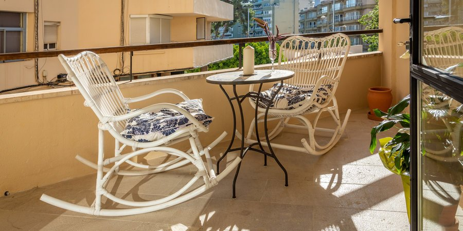 Stylish apartment with terrace close to Palma Sports & Tennis Club