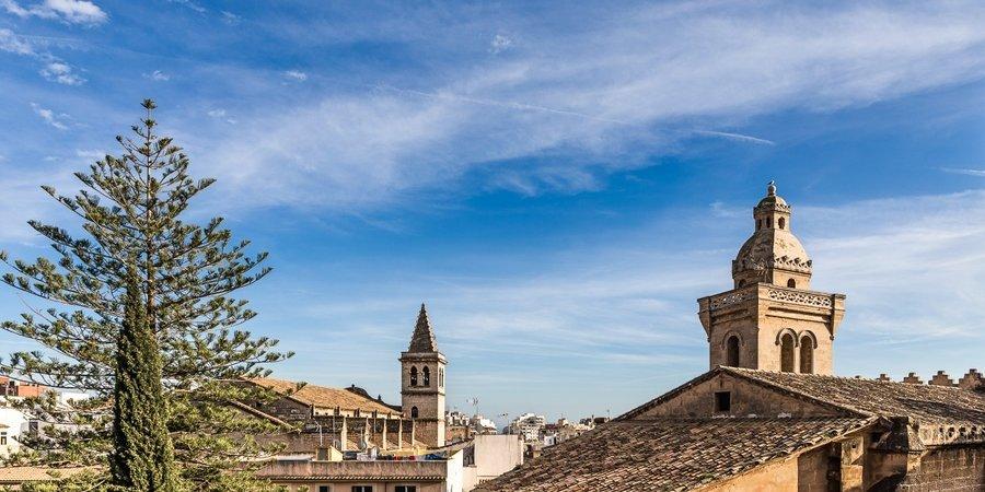 Ljus lägenhet centralt belägen i Palma