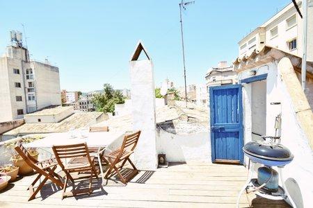 Encantador piso con terraza en la azotea