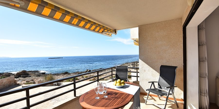 Apartment in erster Meereslinie in Colonia de Sant Jordi