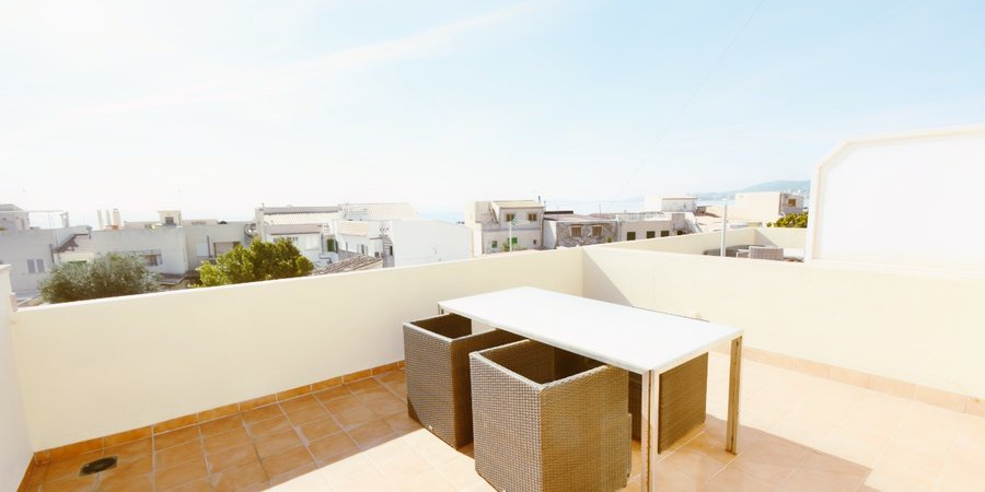 Duplex apartment with terrace in Molinar