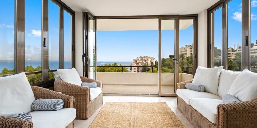 Illetas, lägenhet vid havet