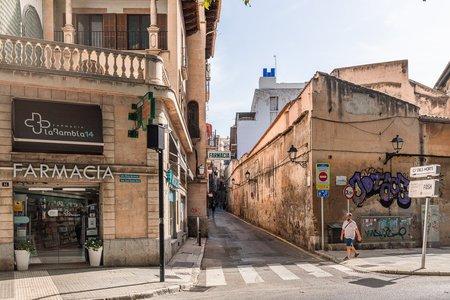 Local comercial en el casco antiguo de Palma